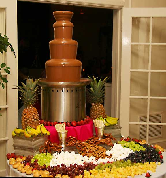 79 Best Chocolate Fountain Set Up Ideas Images On