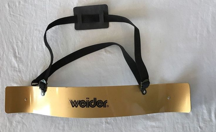 Vintage Joe Weider Super Arm Blaster Bicep Curls Support Trainer Metal w Strap  #Weider