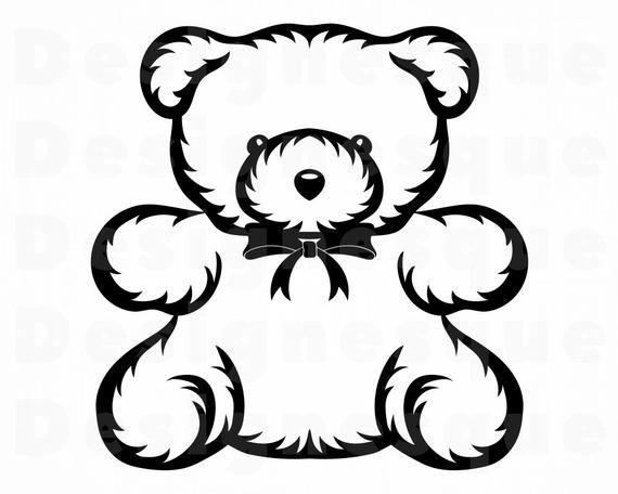 Cute Teddy Bear Svg Teddy Bear Svg Cute Bear Svg Bear Etsy In 2021 Bear Clipart Teddy Bear Clipart Cute Panda Wallpaper