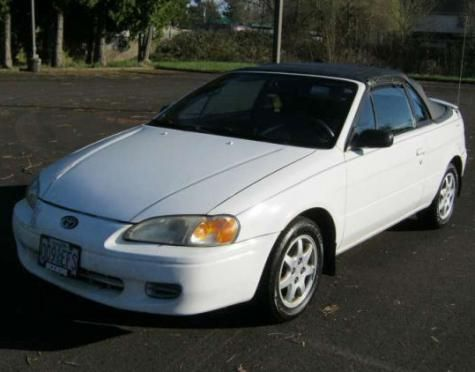 1997 Toyota Paseo Convertible convertible for under $3000 in Oregon
