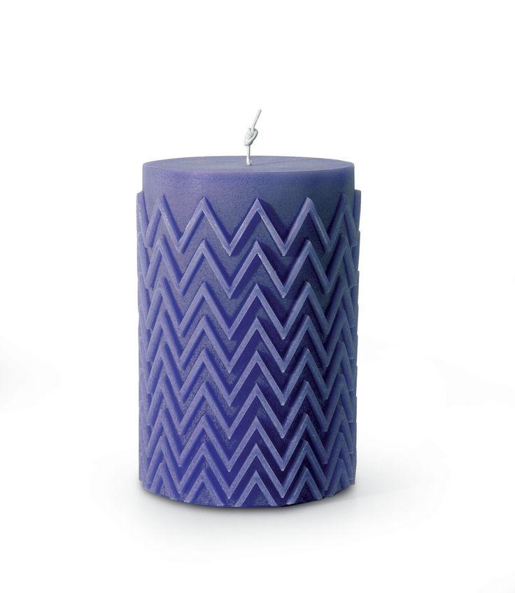 Chevron candle #missonihome