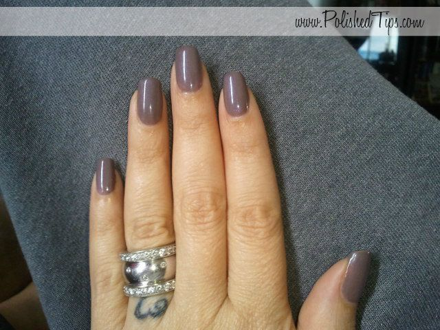 CND Shellac Negligee over Rubble