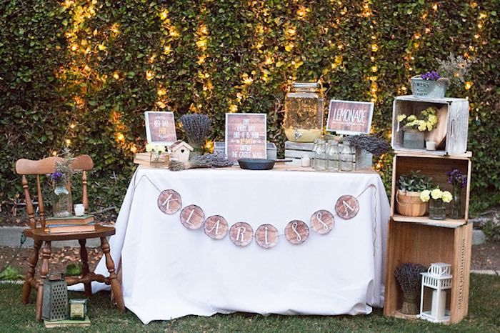 Rustic Twenty First Birthday Party via Kara's Party Ideas KarasPartyIdeas.com (37)