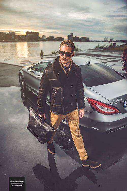Bart van Maanen for Hugo Boss + Mercedes Benz