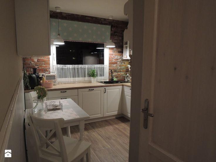 Metamorfoza kuchni i przedpokoju - Kuchnia - zdjęcie od sliwka6