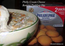 Philly Cream Cheese Banana Pudding Dip #SaveOnPhilly #shop