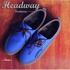 sepatu casualformal headway flying blue $13