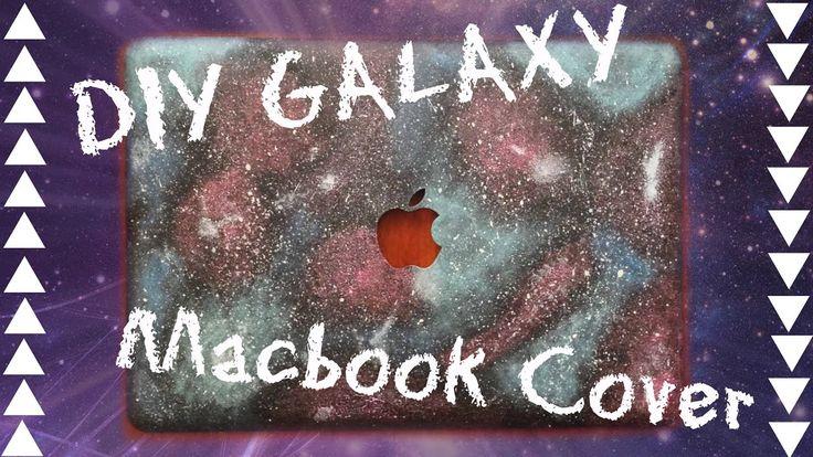 ⭐️✨DIY Galaxy Macbook Cover ✨⭐️