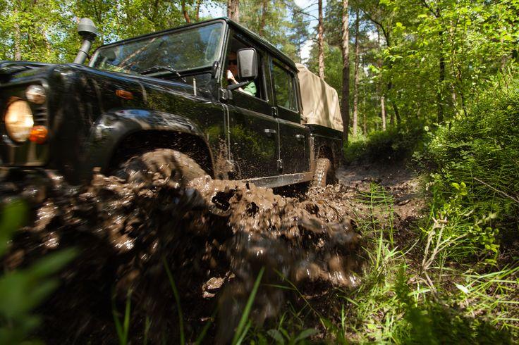 Spelen in de modder!