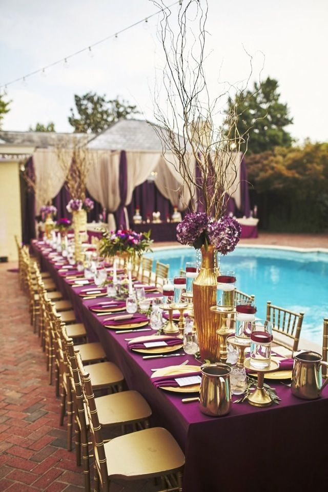 wedding decorations in purple best 25 purple and gold wedding ideas on 9123