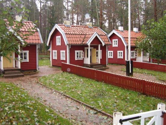 visit the Astrid Lindgren World in Vimmerby, Sweden