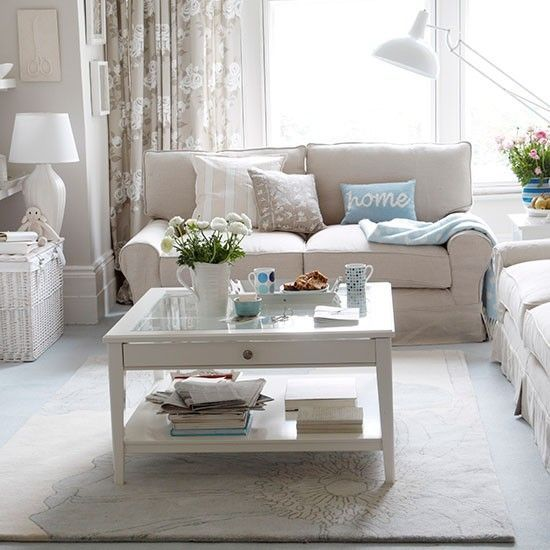 Subtle Stripes Will Add Interest To A Neutral Living Room Scheme Part 49