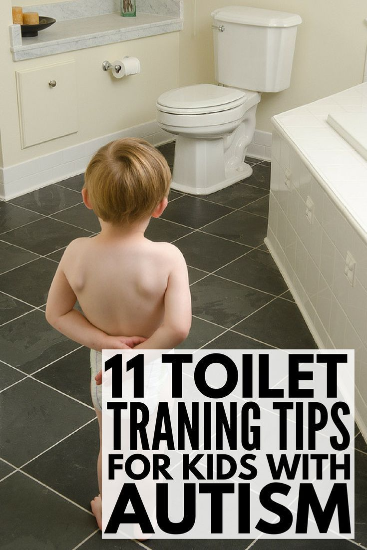 How to Potty Train a Child with Special Needs | Potty training a child with autism and other special needs like sensory processing disorder and speech delay can be extremely challenging. From visual schedules and sticker charts to sensory safe products and ideas, we've got 11 tips to help parents and special needs kids overcome the challenge of toilet training.