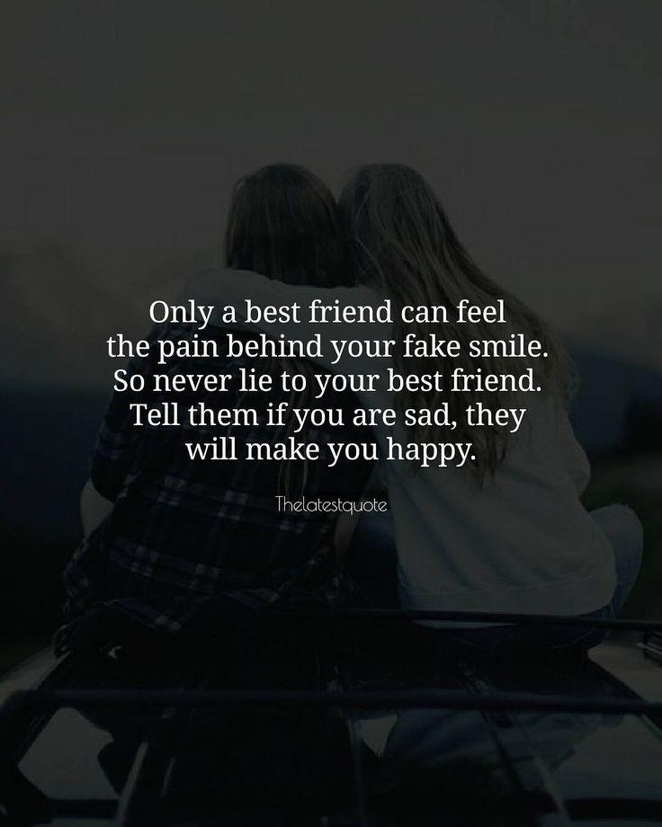 65 Very Painful Sad Friendship Quotes: Best 25+ Your Best Friend Ideas On Pinterest