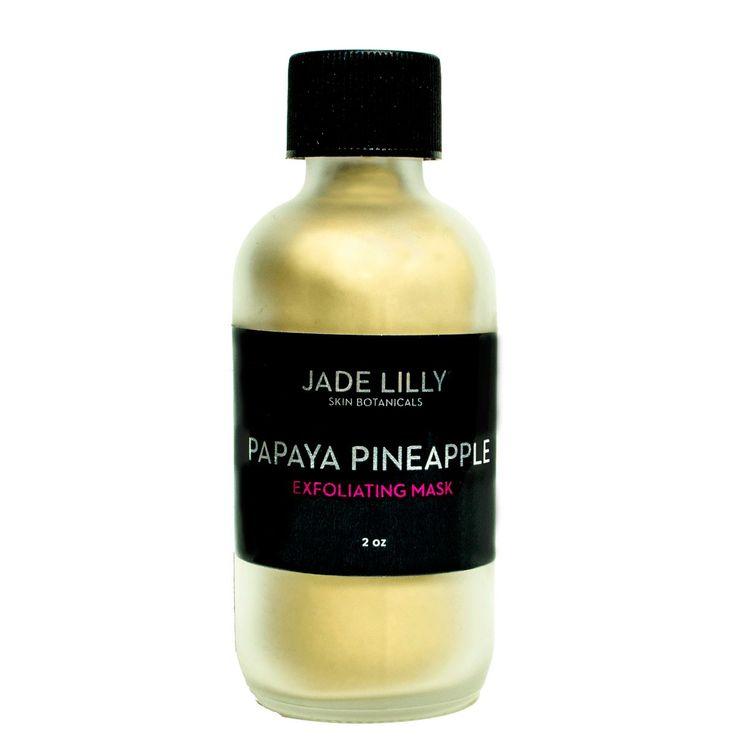 Papaya Pineapple Face Mask