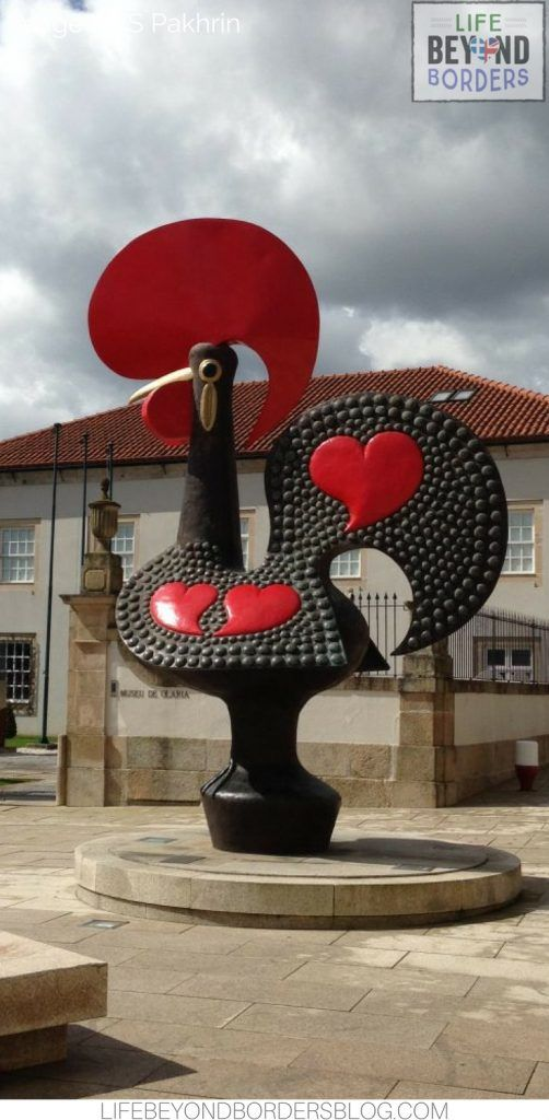 The Barcelos Cock - the famous symbol of northern Portugal.