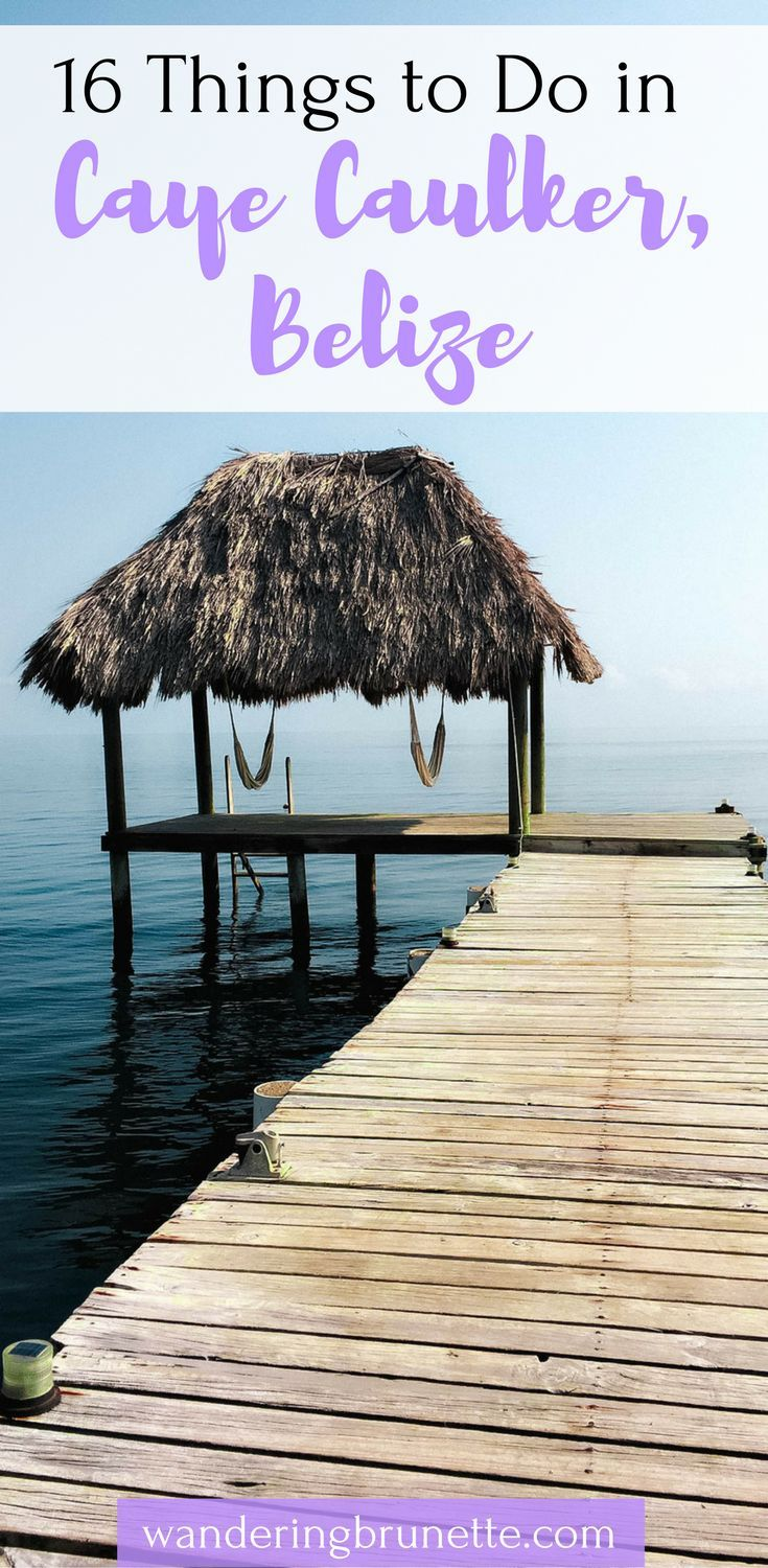 Caye Caulker, Belize is an absolutely breathtaking city with so much to do. We rounded up our favorite 16 things to do in Caye Caulker, Belize to help you plan your time there. It includes relaxing things to do in Caye Caulker, fun things to do in Caye Caulker, snorkeling in Caye Caulker, and much more. Come check out these activities in Caye Caulker, Belize and save it to your travel board so you can find it later.