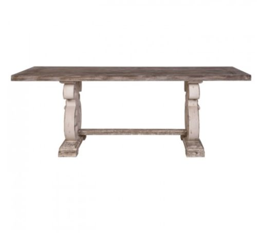 Lute Dining Table - Distressed - India Jane | Dining room ...
