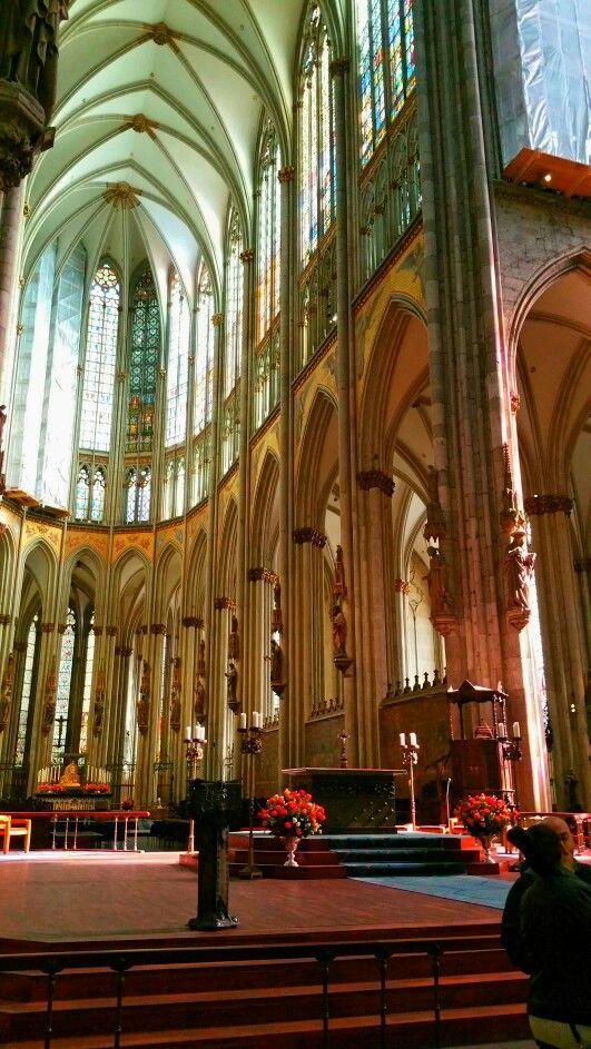 Interior of the Dom Cologne