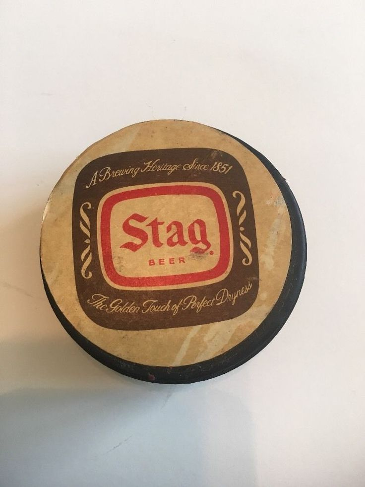 St Louis Blues~Stag Beer~hockey puck. #StLouisBlues