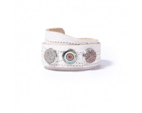 all-over stitch - nude - Armbanden - NOOSA-Amsterdam Original collection