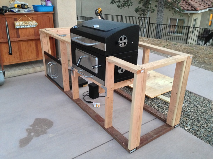 Best images about building my own bbq island on