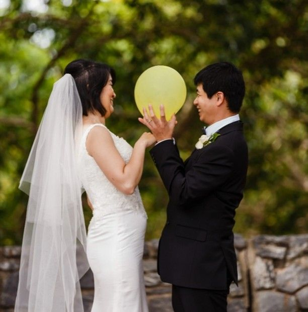 Yellow Balloons.... In Love..... Smiles  #Wedding #weddinginspiration #weddingphotographer #weddinginspo #wedinspiration #brisbaneweddingphotographer #whitemagazine #polkadotbride #vintagebride #cleverbeanproductions #beloved #momentdesign #weddedwonderland #junebugweddings #officialweddingmagazine #instalove #weddingballoons