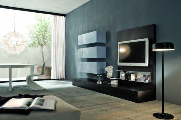 Sala Tv Minimalista ~ sala de tv minimalista pequeña  Buscar con Google  Ideas para el