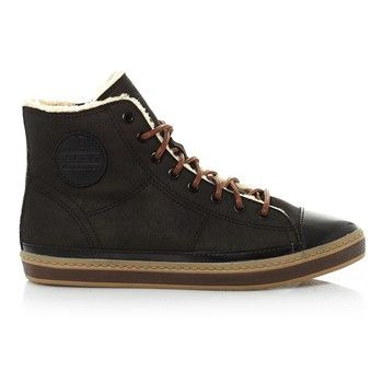 Esprit - Halfhoge sneakers - donkerbruin - 1641110