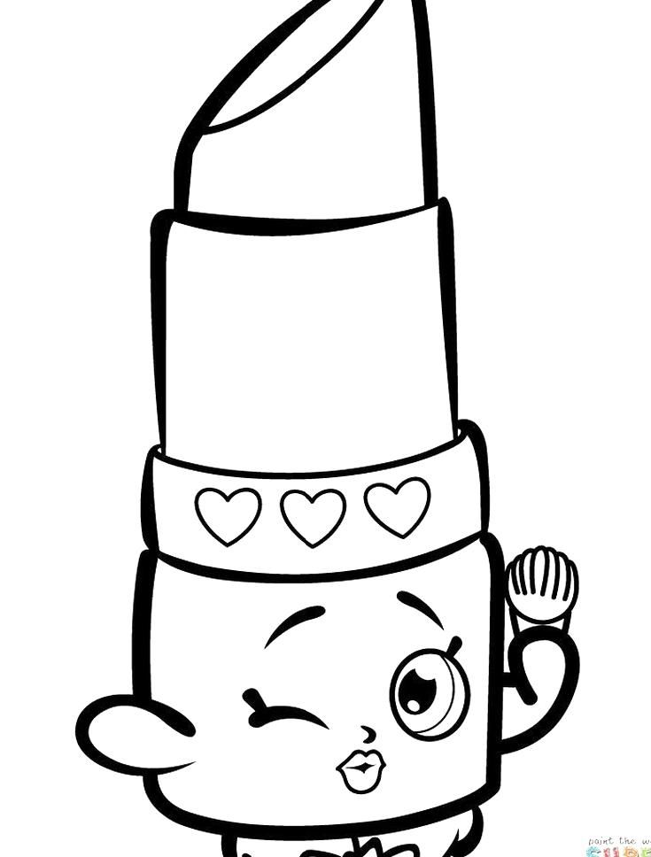 Shopkins Coloring Embroidery Design Awesome Shopkins Coloring Page Lippy In 2020 Shopkins Coloring Pages Free Printable Shopkin Coloring Pages Shopkins Colouring Pages