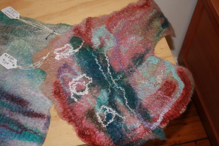 felt piece merino and silk