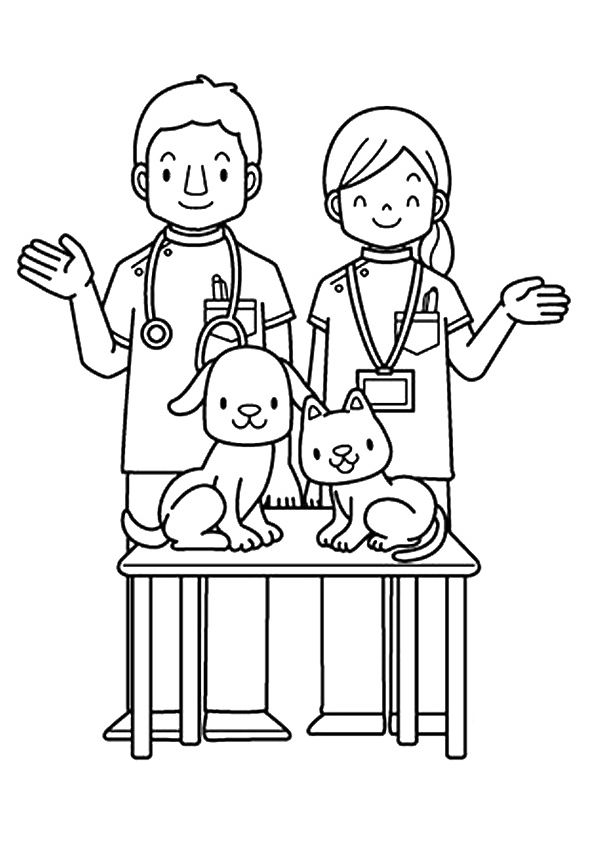 Top 10 Community Helpers Coloring Pages Your Toddler Will Love To Learn
