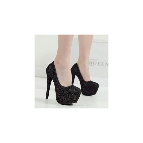 Glitter Platform Stilettos (€34) ❤ liked on Polyvore featuring shoes, footware, stiletto high heel shoes, stiletto heel shoes, famous footwear, stilettos and platform stilettos