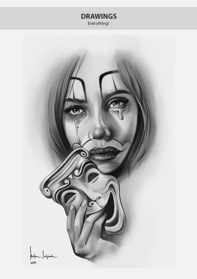 I Will Draw Tattoo Art Designs In 2020 Tattoo Sleeve Designs Art Tattoo Best Tattoo Designs
