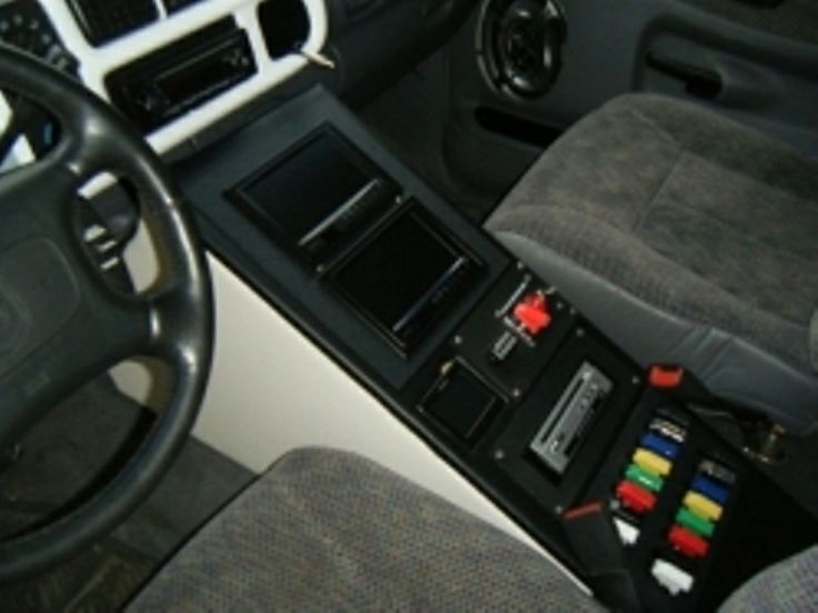 Here Is A Cool Center Console For A 2nd Gen Dodge Ram