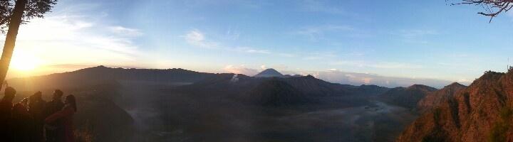 Sunrise Panorama @Bromo