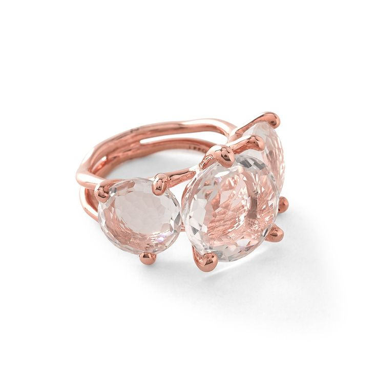 rock candy ippolita ros 3stone ring