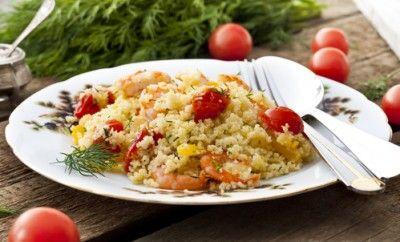 Piatti Dietetici: Cous Cous di Verdure e Gamberetti