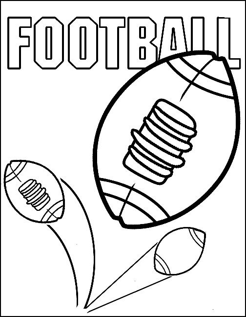 Dibujos para Colorear Deportes 25