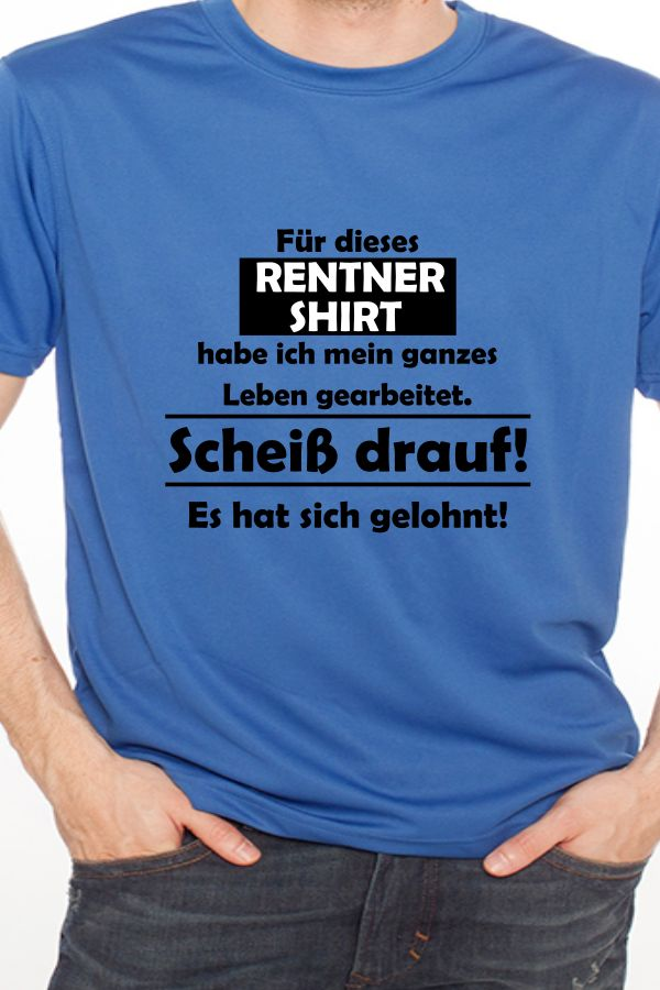 Arbeits T-shirt Basic Navyblau Business & Industrie Kleidung