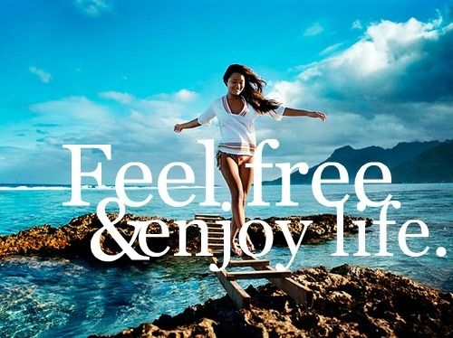 Feel Free & Enjoy Life: Pink Summer, Life Motto, Life Mottos, Motivation Inspiration, Favorite Quotes, Enjoying Life, Feelings Free, Inspiration Quotes, Pictures Quotes