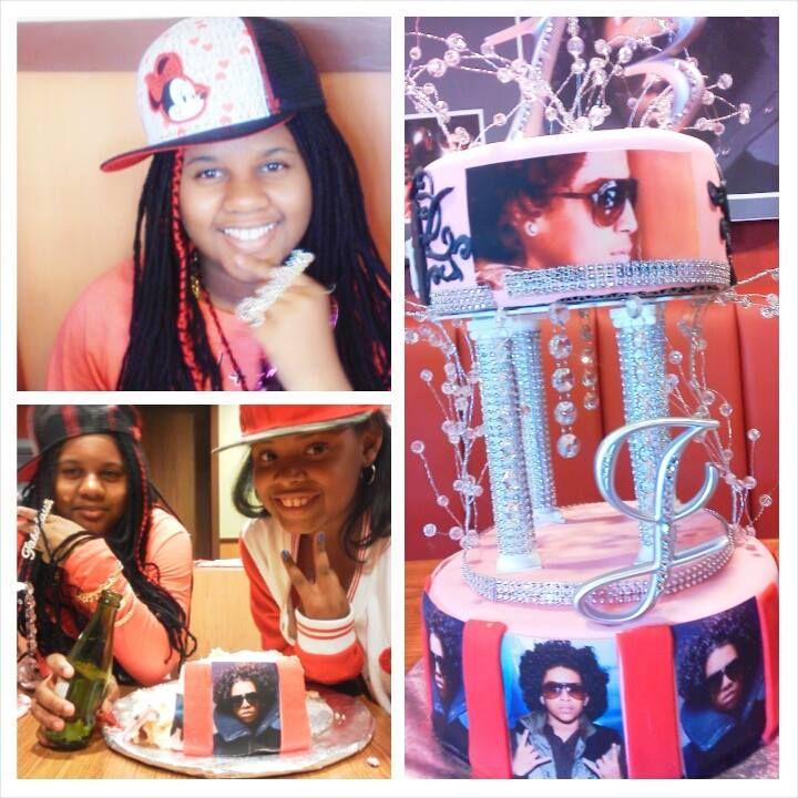 Mindless Behavior Themed Birthday Cake Princeton