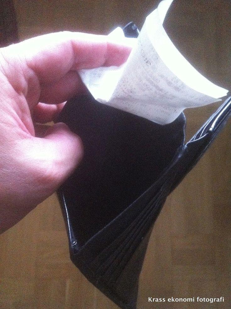 Krass ekonomi: Leva billigt // Translate from Swedish  Bad economy. Live cheap