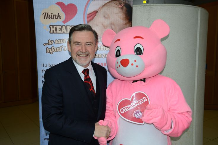 Barry Gardiner MP with Heartly!