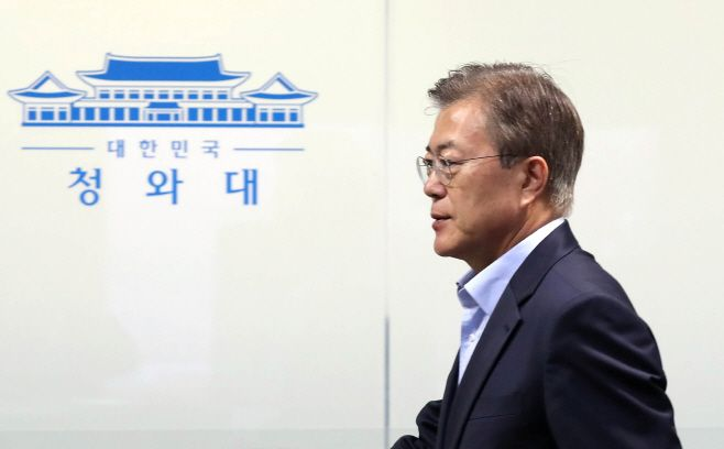 문 대통령, 북한 미사일 관련 NSC 참석2017.05.14