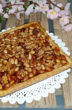 Crostata di frutta secca con marmellata, ricetta, cucina preDiletta