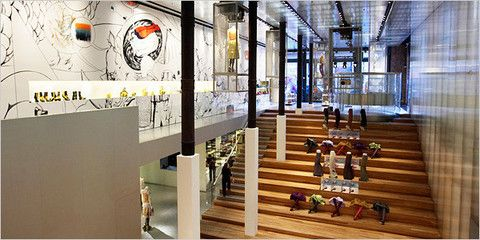 Магазин Prada в Нью-Йорке