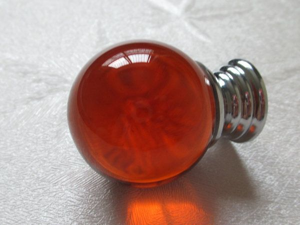 Glass Dresser Knob Amber Knobs Crystal Knob Drawer Knobs Pulls Handles / Nautical Kitchen Cabinet Knobs Silver Decorative Knobs Hardware