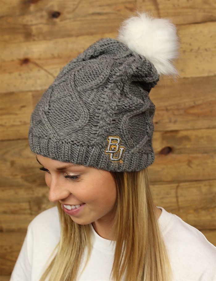 Baylor Bears.. check out this go-to beanie for those chilly games GO BU