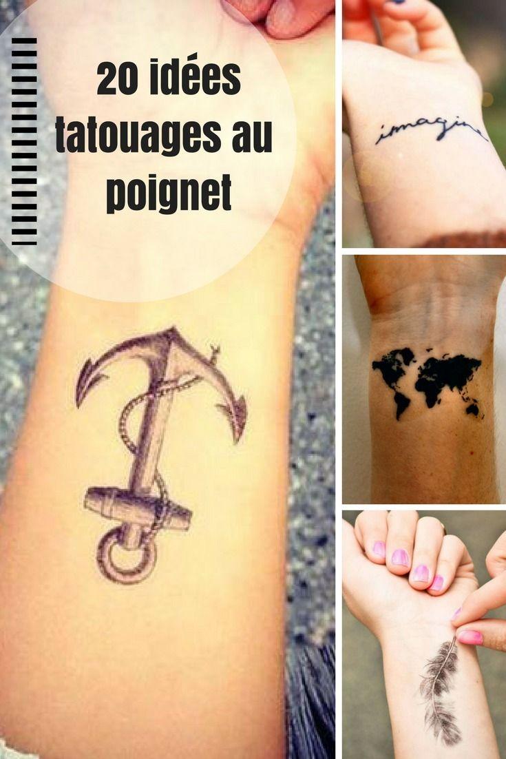 20 idées tatouages sur le poignet